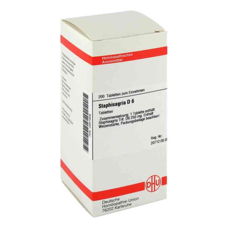 Staphisagria D 6 Tabletten  bei versandapo.de bestellen