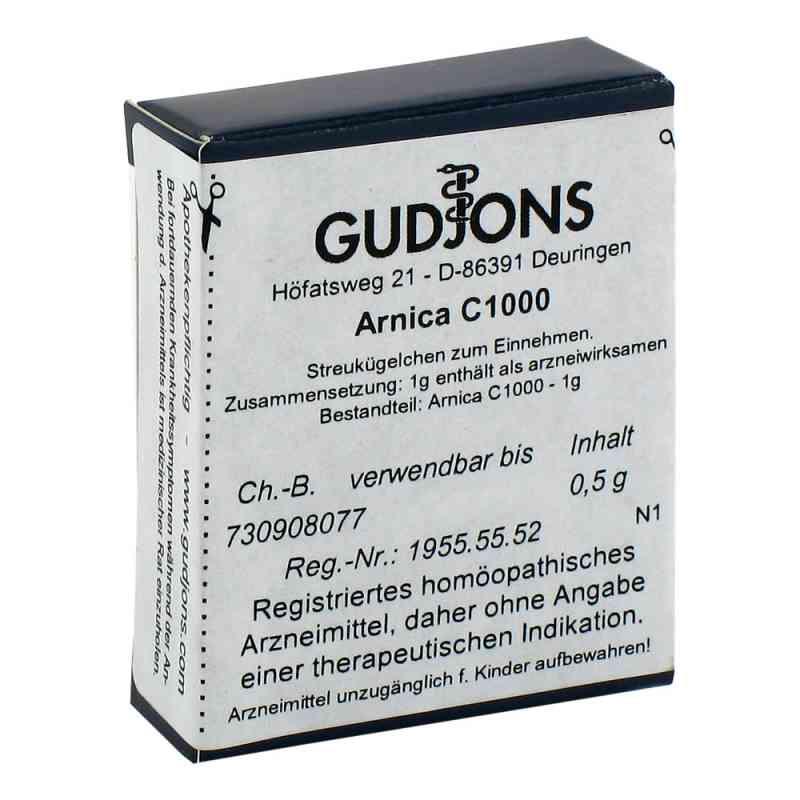 Arnica C 1000 Einzeldosis Globuli  bei versandapo.de bestellen