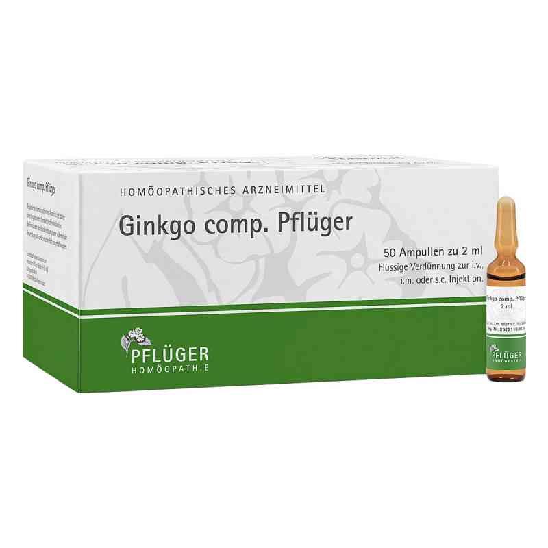 Ginkgo Comp.pflüger Ampullen  bei versandapo.de bestellen