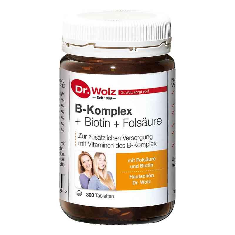 B Komplex + Biotin + Folsäure Tabletten  bei versandapo.de bestellen