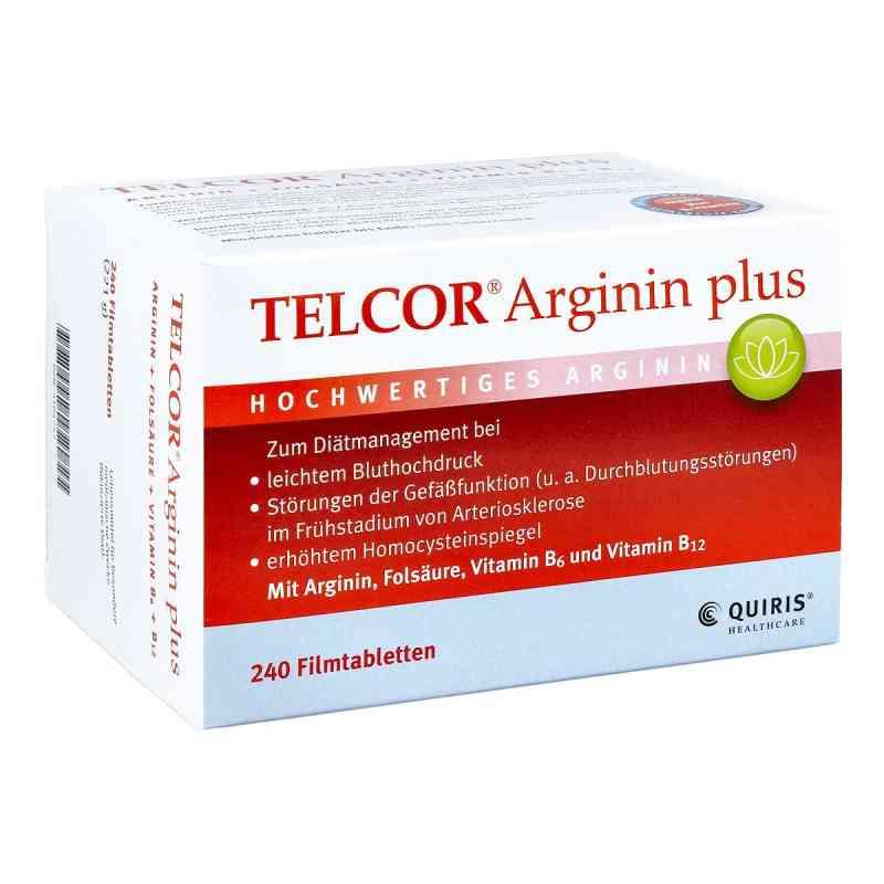 Telcor Arginin plus Filmtabletten  bei versandapo.de bestellen