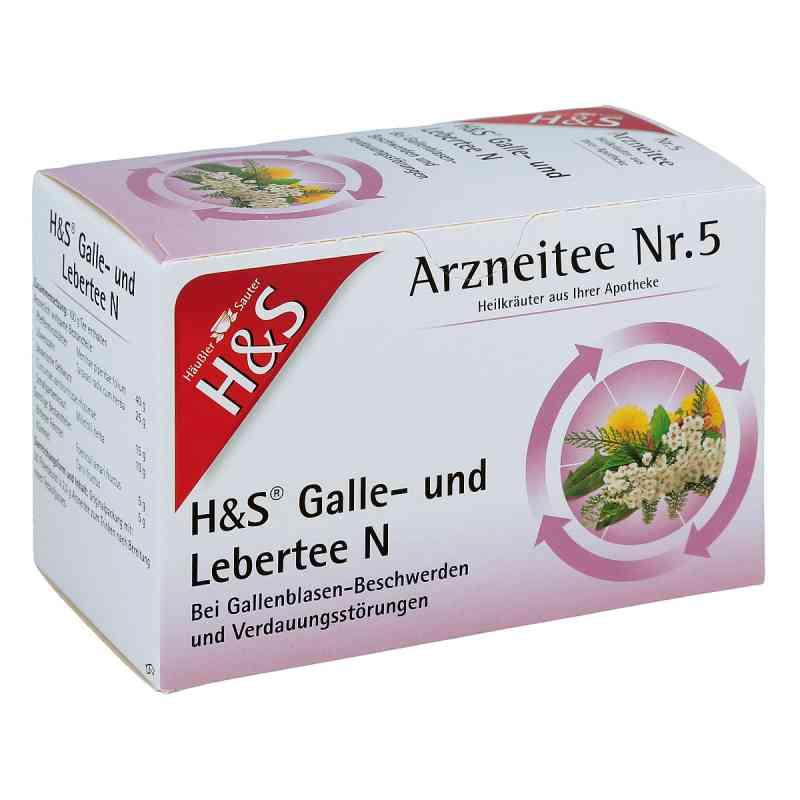 H&s Galle- und Lebertee N Filterbeutel  bei versandapo.de bestellen