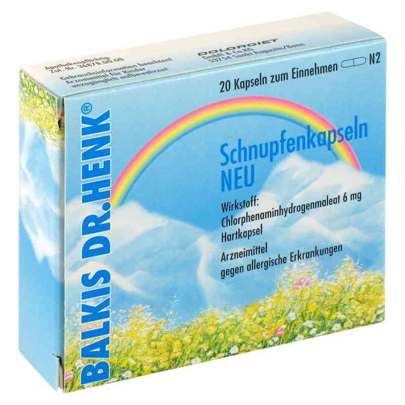 Balkis Dr. Henk Schnupfenkapseln Neu  bei versandapo.de bestellen