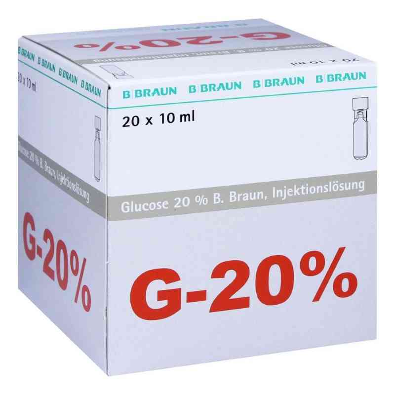Glucose 20% Braun Mini Plasco connect iniecto -lsg.  bei versandapo.de bestellen