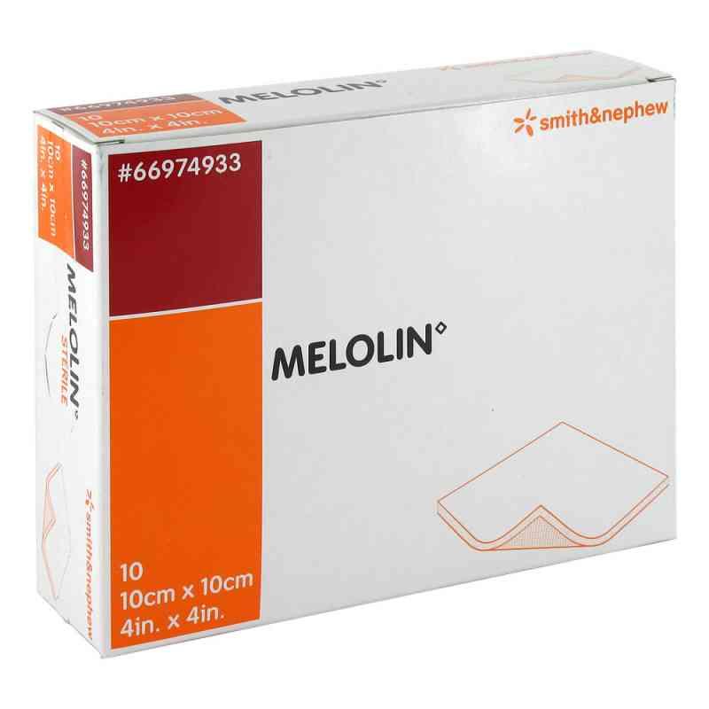 Melolin 10x10cm Wundauflagen steril  bei versandapo.de bestellen