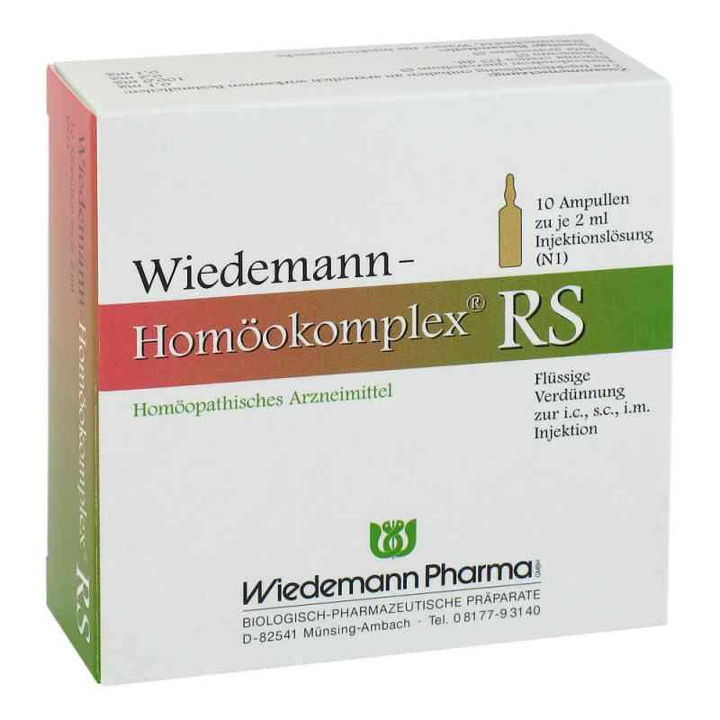 Wiedemann Homöokomplex Rs Ampullen  bei versandapo.de bestellen