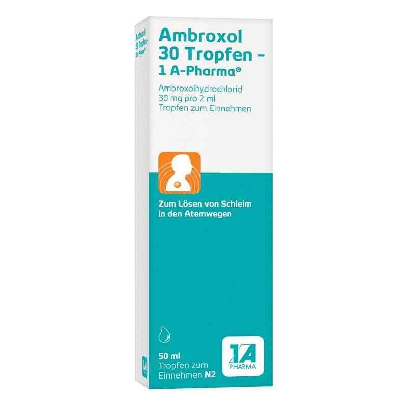 Ambroxol 30 Tropfen-1A Pharma  bei versandapo.de bestellen