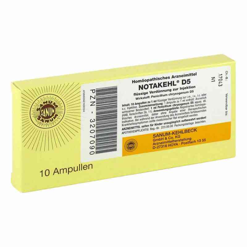 Notakehl D 5 Ampullen  bei versandapo.de bestellen