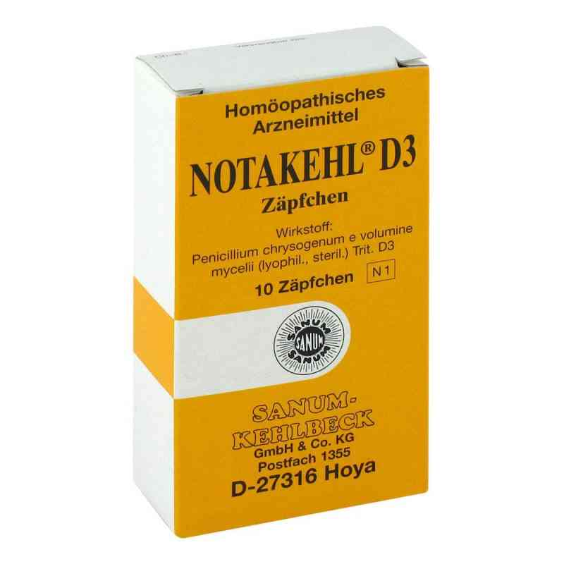 Notakehl D 3 Suppositorien  bei versandapo.de bestellen