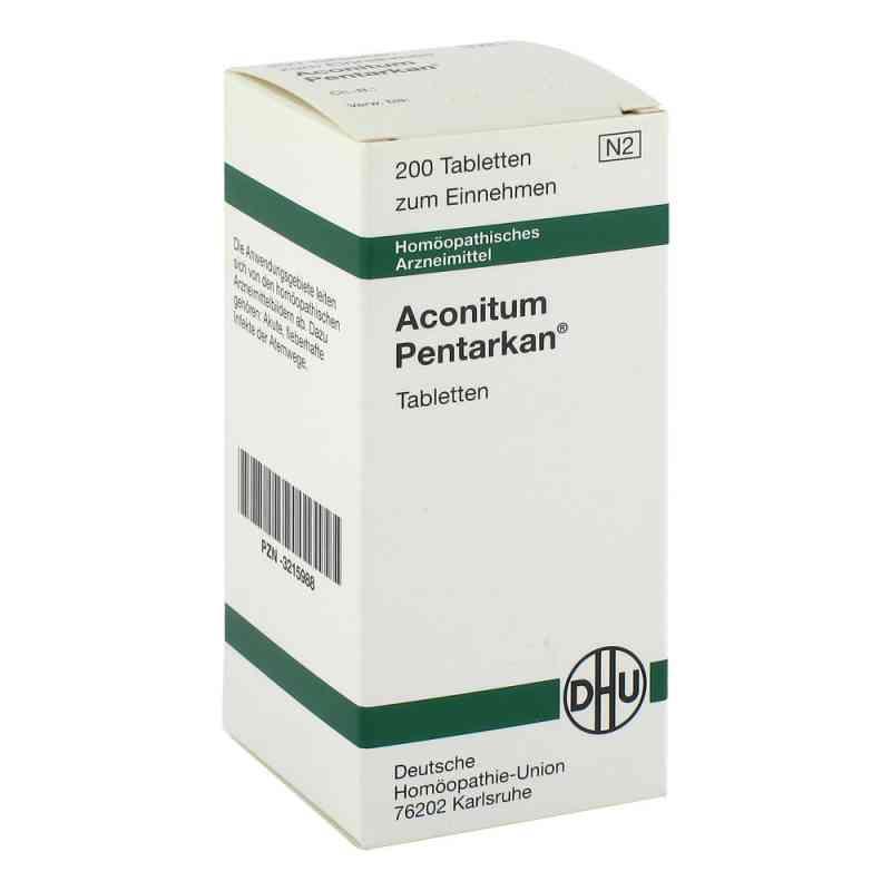 Aconitum Pentarkan Tabletten  bei versandapo.de bestellen