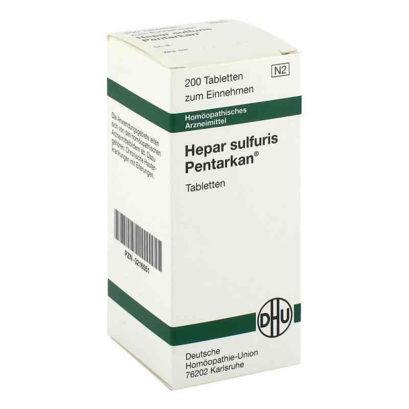 Hepar Sulfuris Pentarkan Tabletten  bei versandapo.de bestellen