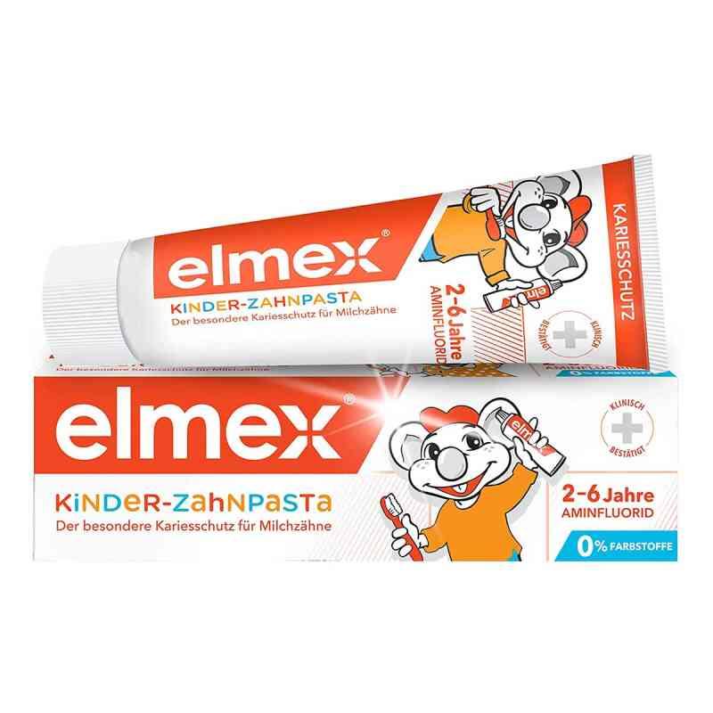 Elmex Kinderzahnpasta mit Faltschachtel  bei versandapo.de bestellen