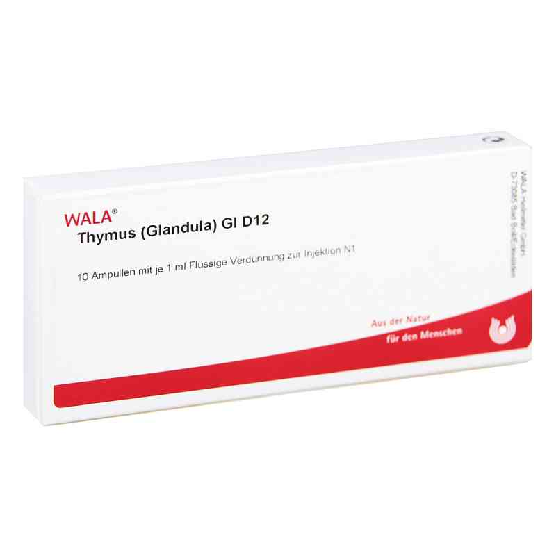 Thymus Glandula Gl D 12 Ampullen  bei versandapo.de bestellen
