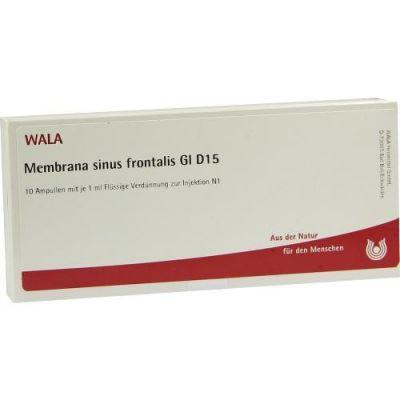 Membrana Sinus Front. Gl D 15 Ampullen  bei versandapo.de bestellen