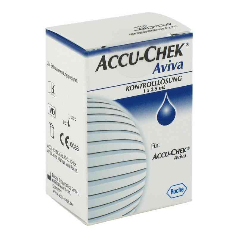 Accu Chek Aviva Kontroll Lösung  bei versandapo.de bestellen