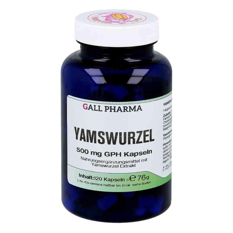 Yamswurzel 500 mg Gph Kapseln  bei versandapo.de bestellen