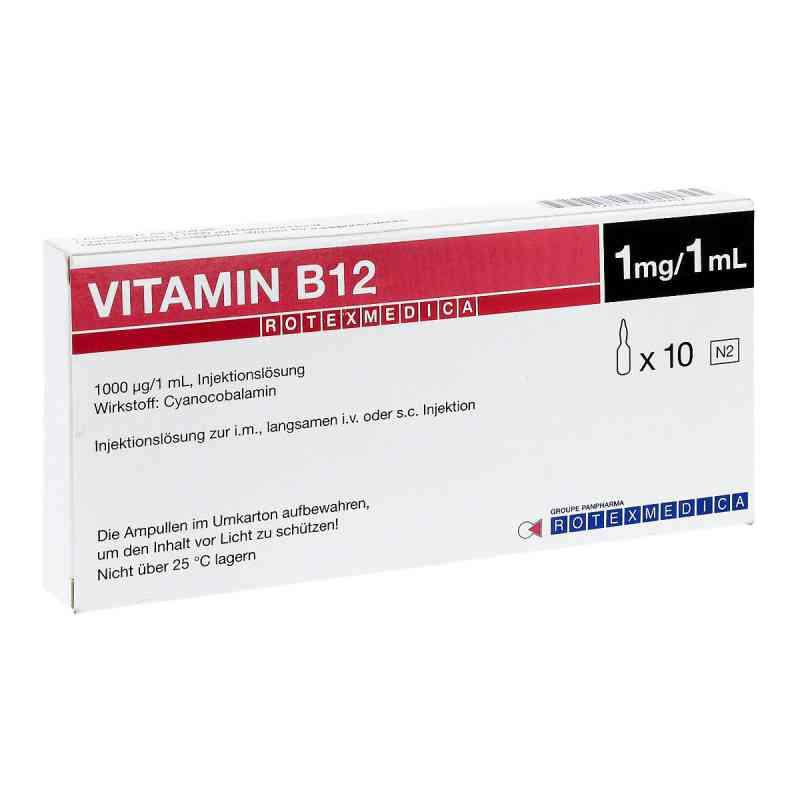 Vitamin B12 Rotexmedica Injektionslösung  bei versandapo.de bestellen