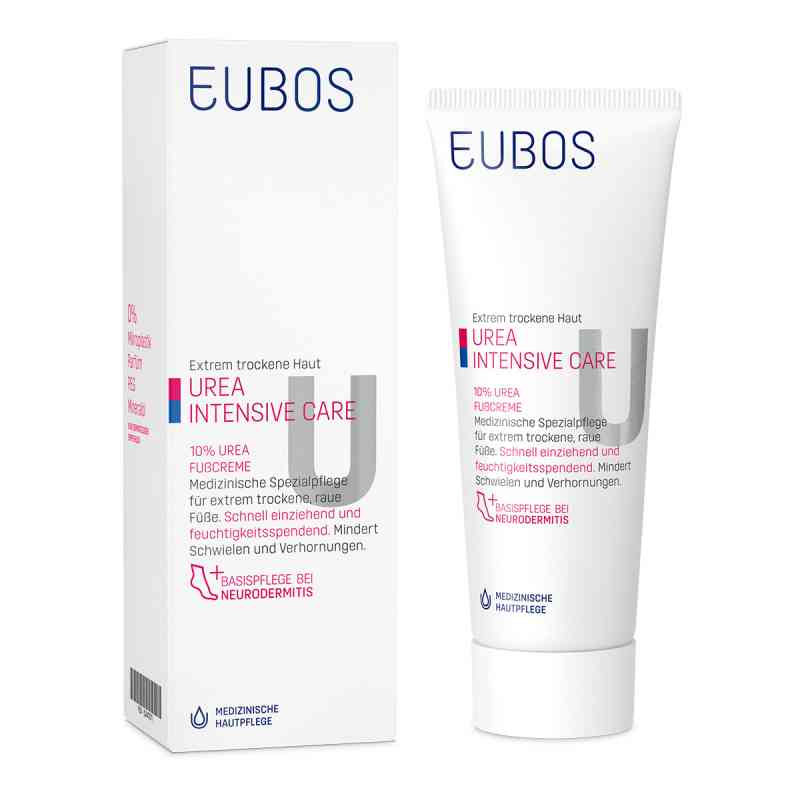 Eubos Trockene Haut Urea 10% Fusscreme  bei versandapo.de bestellen
