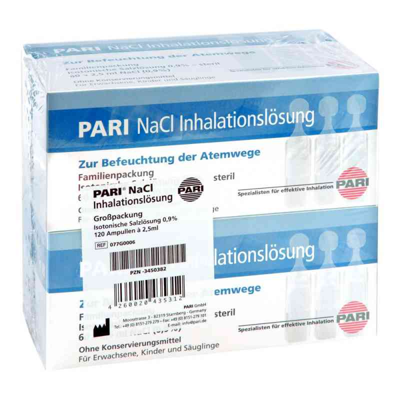 Pari Nacl Inhalationslösung Ampullen  bei versandapo.de bestellen