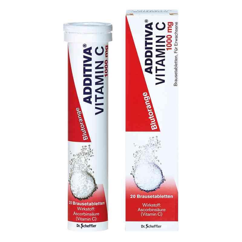 Additiva Vitamin C Blutorange Brausetabletten  bei versandapo.de bestellen