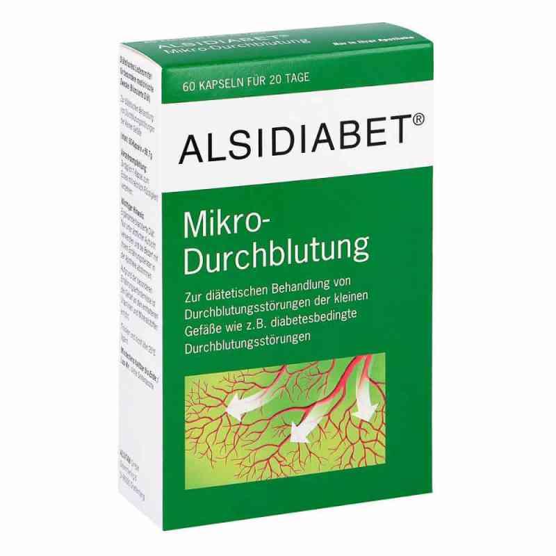 Alsidiabet Diabetiker Mikro Durchblutung Kapseln  bei versandapo.de bestellen