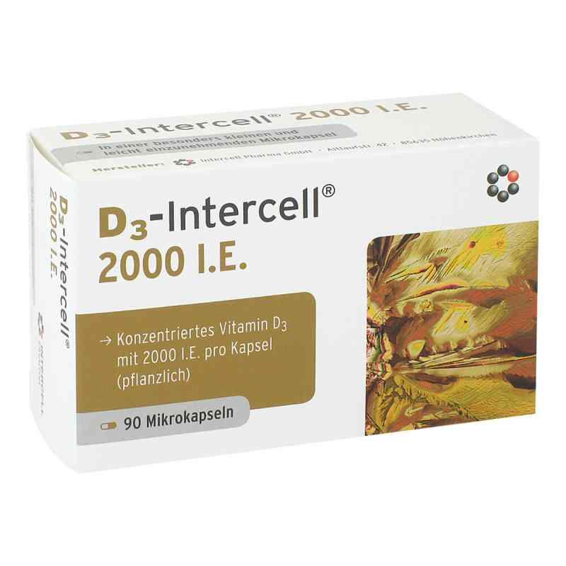 D3-intercell 2000 I.e. Kapseln  bei versandapo.de bestellen