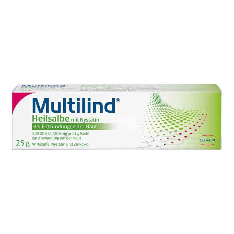 Multilind Heilsalbe mit Nystatin  bei versandapo.de bestellen