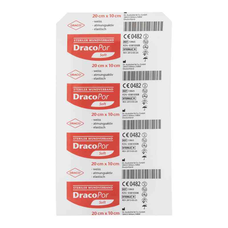 Dracopor Wundverband 20x10cm steril  bei versandapo.de bestellen
