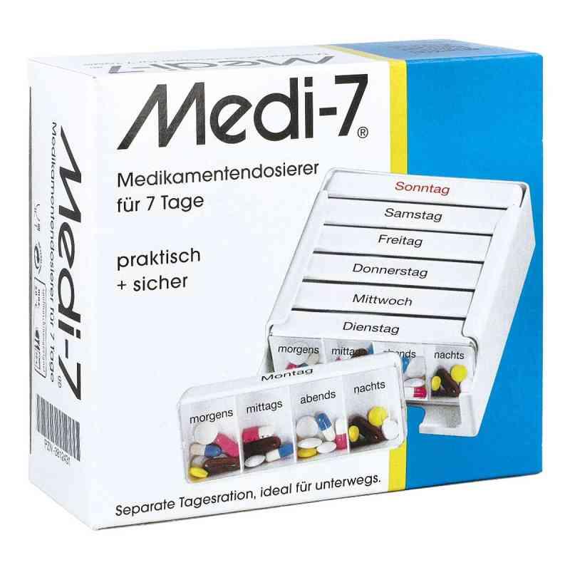 Medi 7 Medikamenten Dosierer für 7 Tage  bei versandapo.de bestellen