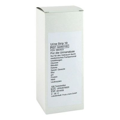 Urinteststreifen Nummer 10 /10 Parameter  bei versandapo.de bestellen