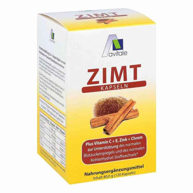 Zimt Kapseln 500 mg+Vitamin C+e  bei versandapo.de bestellen