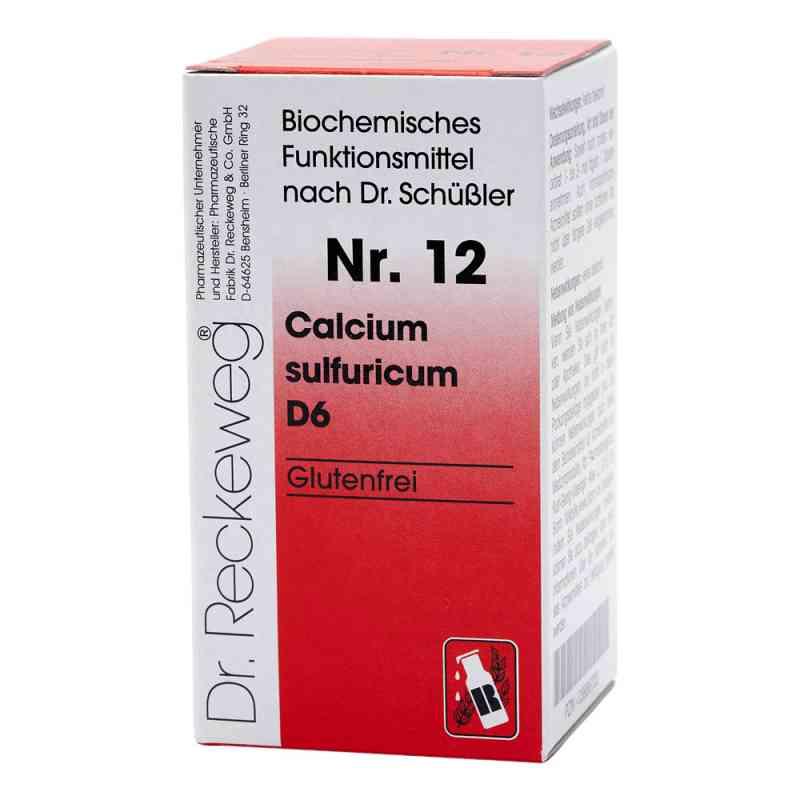Biochemie 12 Calcium sulfuricum D 6 Tabletten  bei versandapo.de bestellen