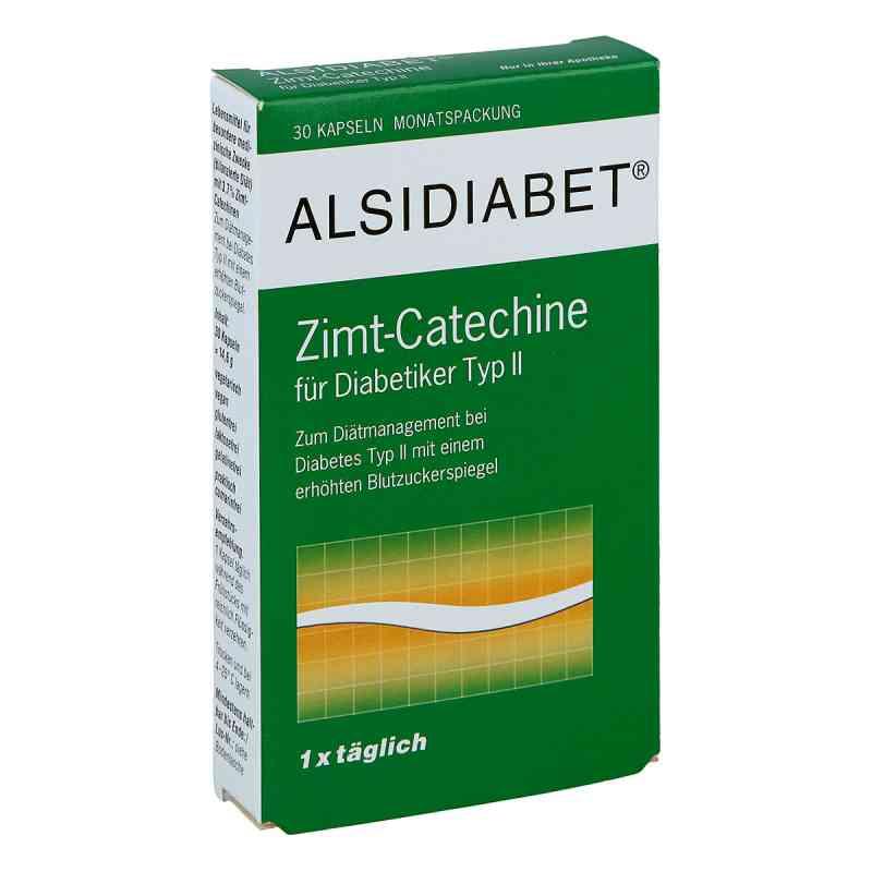 Alsidiabet Zimt Catechine für Diab.Typ Ii Kapseln  bei versandapo.de bestellen
