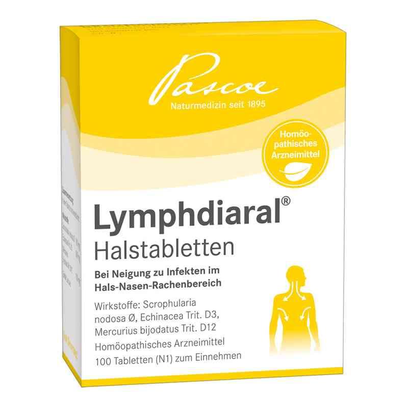 Lymphdiaral Halstabletten  bei versandapo.de bestellen