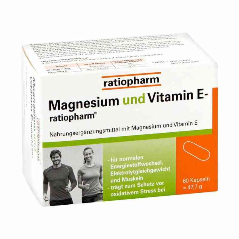 Magnesium Und Vitamin E ratiopharm Kapseln  bei versandapo.de bestellen