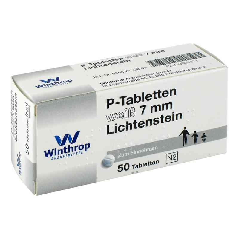 P Tabletten weiss 7 mm Teilk.  bei versandapo.de bestellen