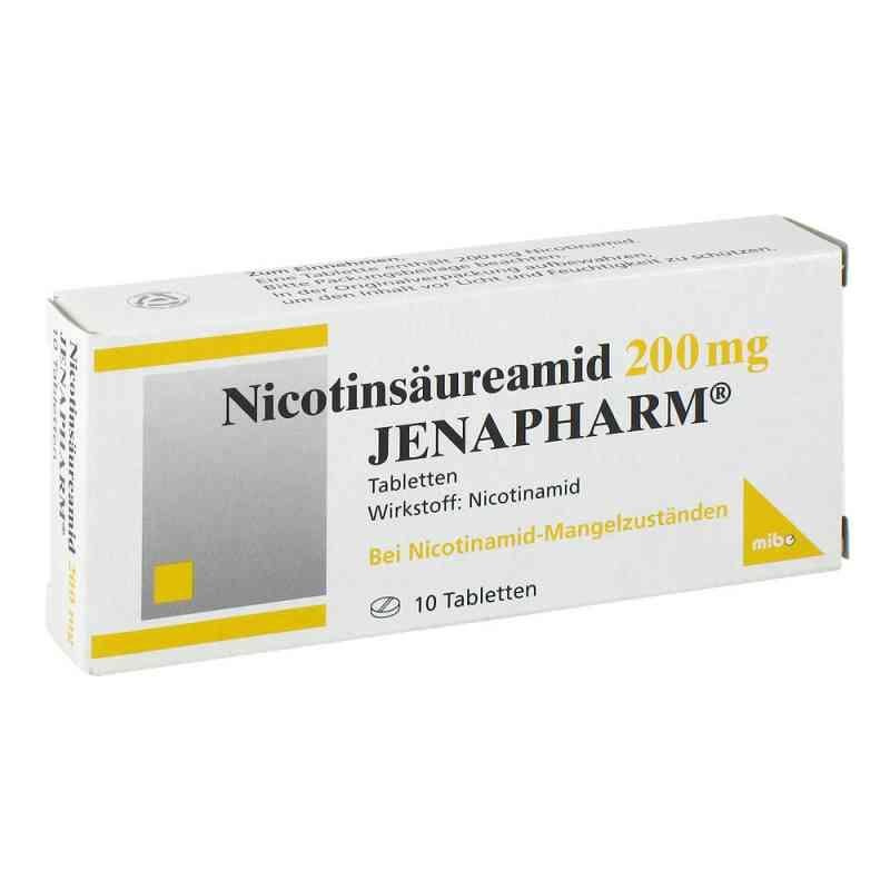 Nicotinsäureamid 200 mg Jenapharm Tabletten  bei versandapo.de bestellen