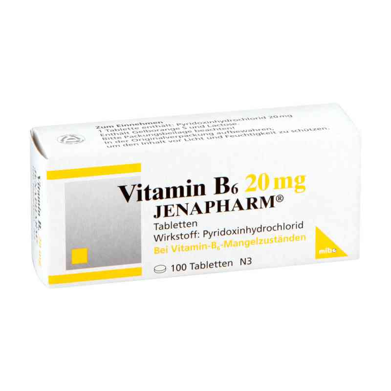 Vitamin B6 20 mg Jenapharm Tabletten  bei versandapo.de bestellen
