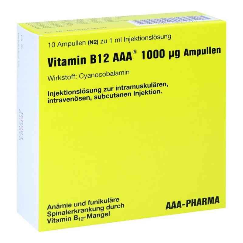 Vitamin B12 Aaa 1000 [my]g Ampullen  bei versandapo.de bestellen