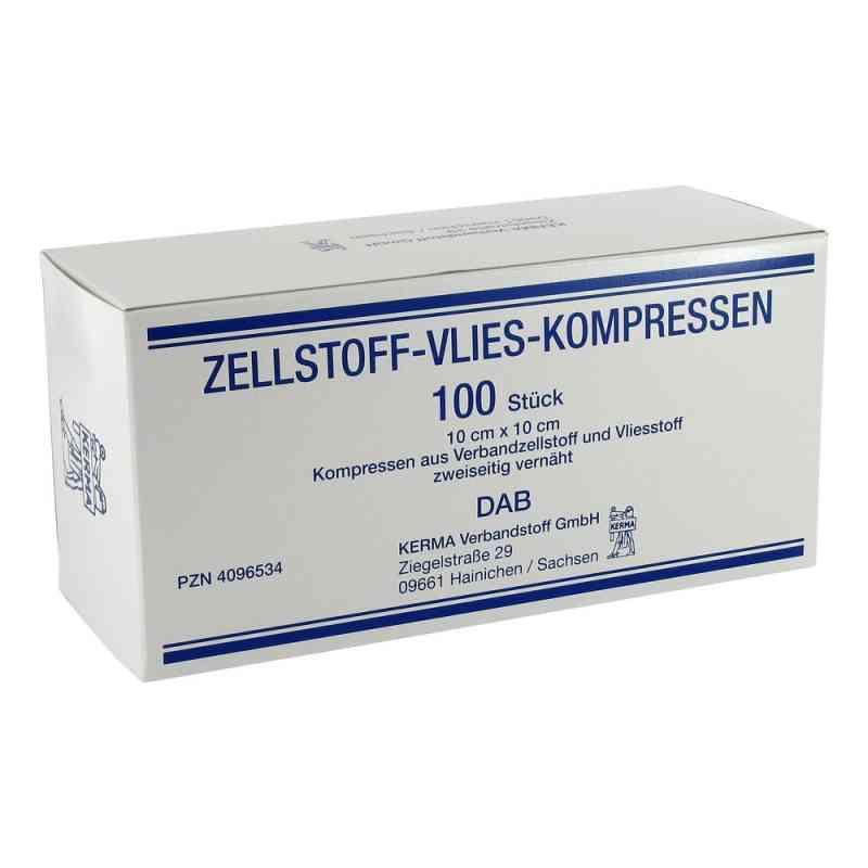 Zellstoff Vlies Kompressen 10x10cm unsteril  bei versandapo.de bestellen