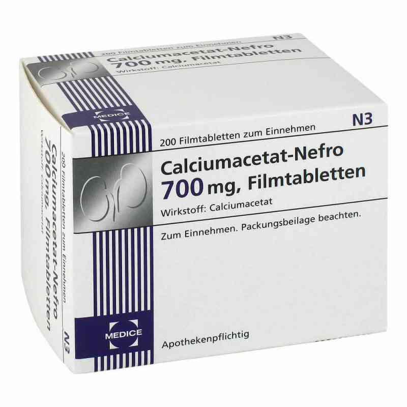 Calciumacetat Nefro 700 mg Filmtabletten  bei versandapo.de bestellen