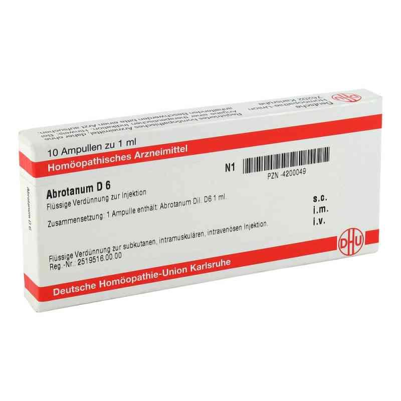 Abrotanum D 6 Ampullen  bei versandapo.de bestellen