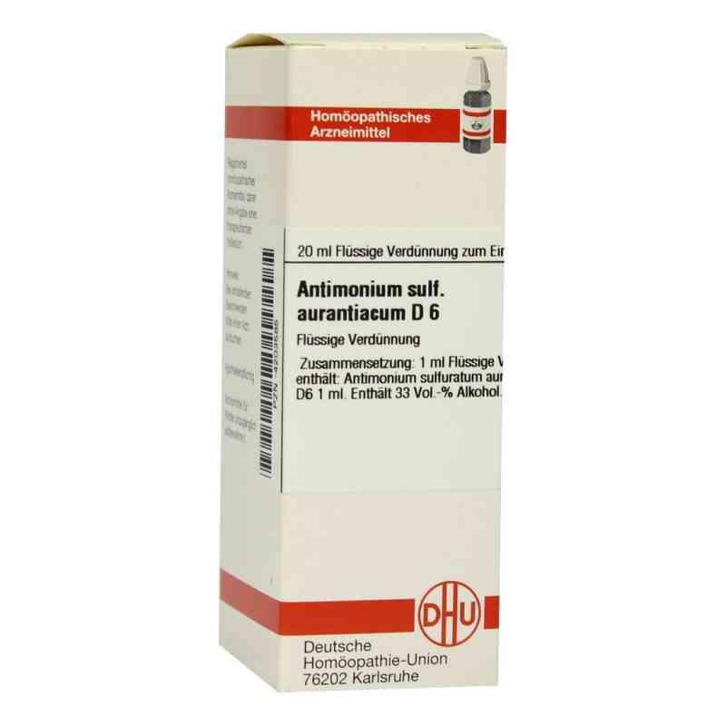 Antimonium Sulf. Aurant. D 6 Dilution  bei versandapo.de bestellen