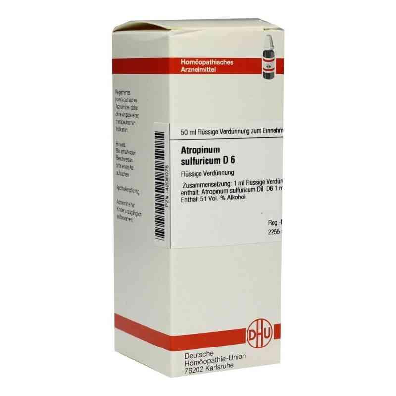 Atropinum Sulfuricum D 6 Dilution  bei versandapo.de bestellen