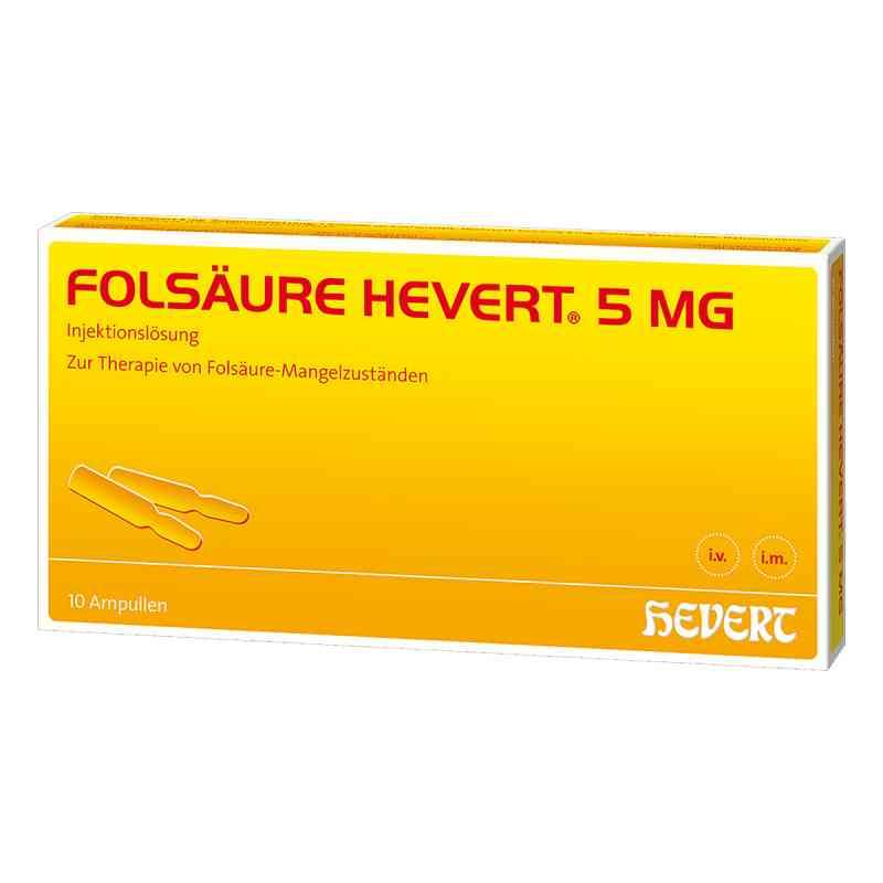 Folsäure Hevert 5 mg Ampullen  bei versandapo.de bestellen