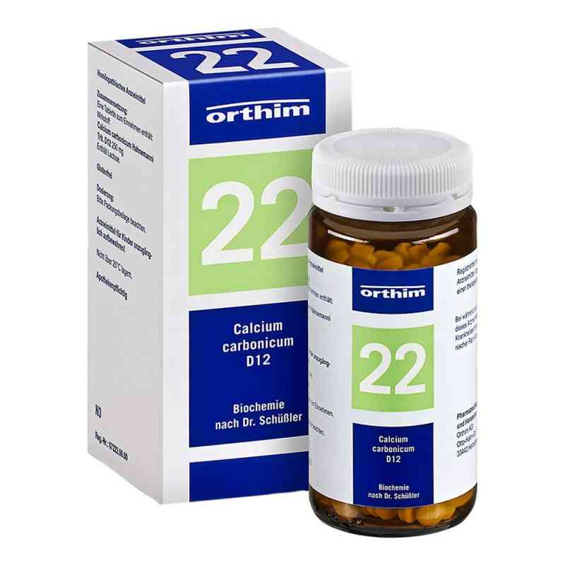 Biochemie Orthim 22 Calcium carbonicum D12 Tabletten  bei versandapo.de bestellen