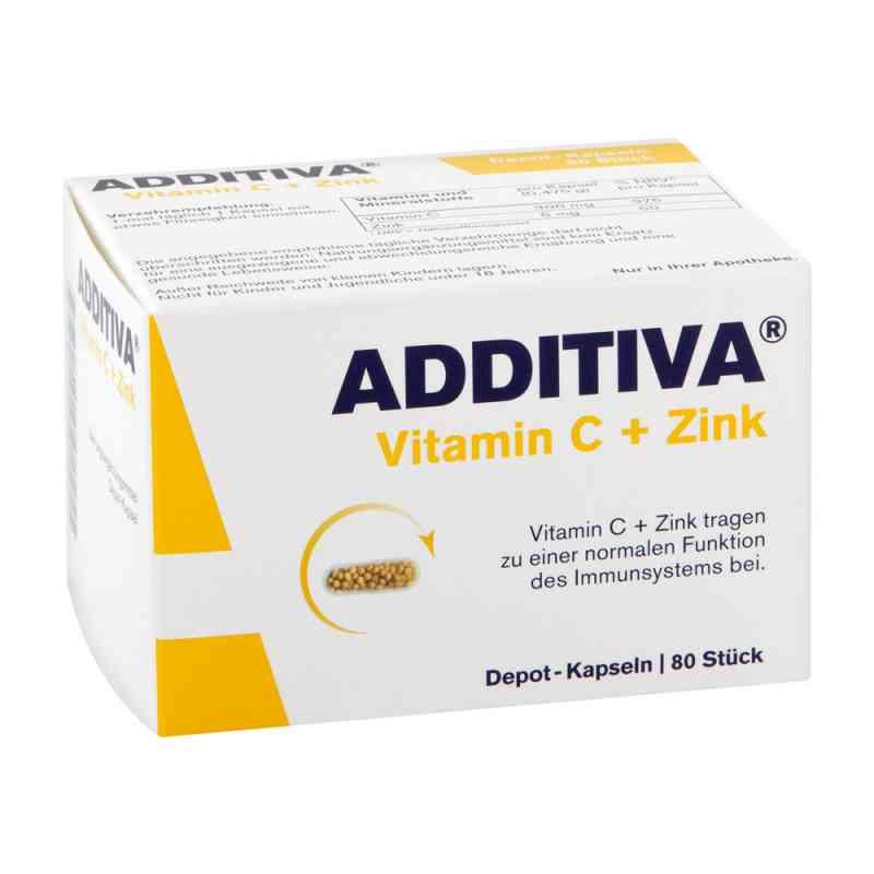 Additiva Vitamin C+zink Depotkaps.aktionspackung  bei versandapo.de bestellen