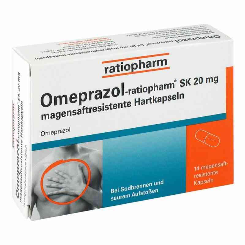 Omeprazol-ratiopharm SK 20mg  bei versandapo.de bestellen
