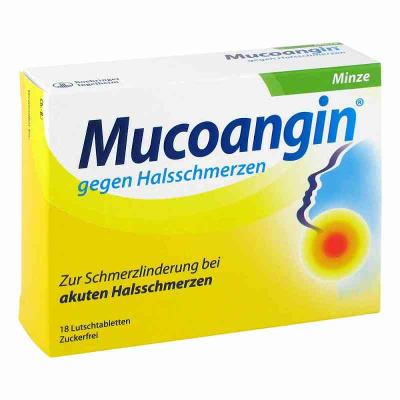 Mucoangin gegen Halsschmerzen Minze  bei versandapo.de bestellen
