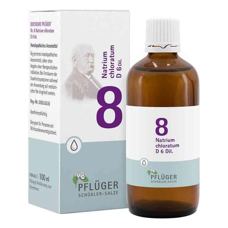 Biochemie Pflüger 8 Natrium chloratum D  6 Tropfen  bei versandapo.de bestellen